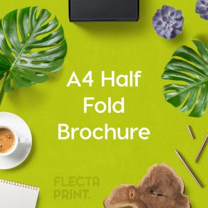 A4 Half Fold Brochure (A3 folded to A4)