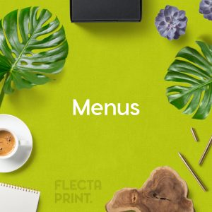 Function Menus (DL) Digital Print