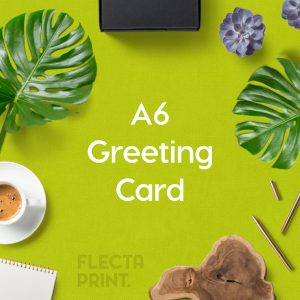 A6 Greeting Card (to fit C6 envelope)