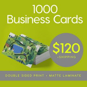 1000x Business Card Deal